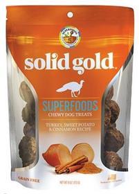Solid Gold Superfoods Turkey Sweet Potato Cinnamon Chewy Dog Treats