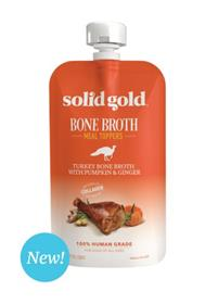 Solid Gold Turkey Bone Broth With Pumpkin and Ginger