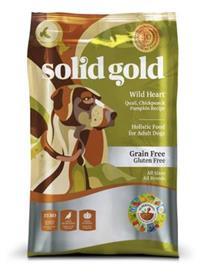 Solid Gold Wild Heart Quail Chickpeas Pumpkin Recipe Grain Free Adult