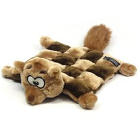Squirrel Squeaker Mat Dog Toy