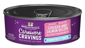 Stella and Chewys Carnivore Cravings Purrfect Pate Chicken and Salmon Recipe