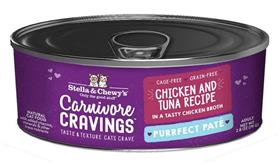 Stella and Chewys Carnivore Cravings Purrfect Pate Chicken and Tuna Recipe