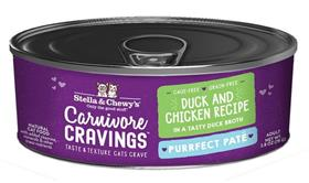 Stella and Chewys Carnivore Cravings Purrfect Pate Duck and Chicken Recipe