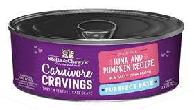 Stella and Chewys Carnivore Cravings Purrfect Pate Tuna and Pumpkin Recipe