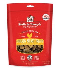 Stella and Chewys Chicken Breast Freeze Dried Raw Dog Treats