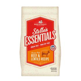 Stella and Chewys Essentials Grain Free Grass Fed Beef and Lentils Recipe