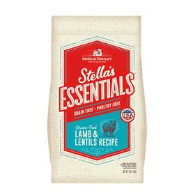 Stella and Chewys Essentials Grain Free Grass Fed Lamb and Lentils Recipe