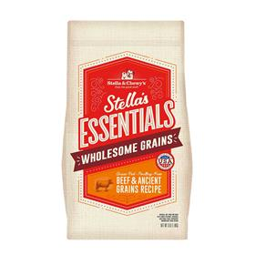 Stella and Chewys Essentials Grass Fed Beef Ancient Grains Recipe