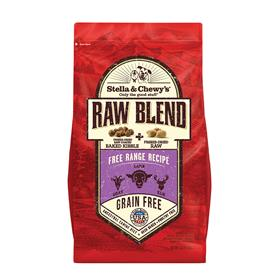 Stella and Chewys Free Range Raw Blend Kibble