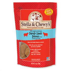 Stella and Chewys Freeze Dried Dandy Lamb Dinner