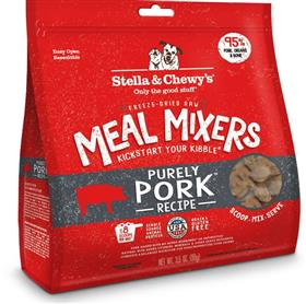 Stella and Chewys Freeze Dried Raw Purely Pork Meal Mixer