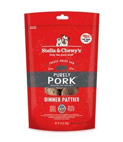Stella and Chewys Freeze Dried Raw Purely Pork