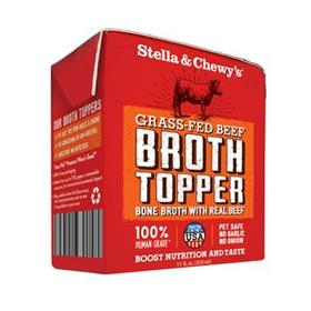 Stella and Chewys Grass Fed Beef Broth Topper