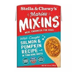 Stella and Chewys Maries Mix Ins Salmon Pumpkin Recipe