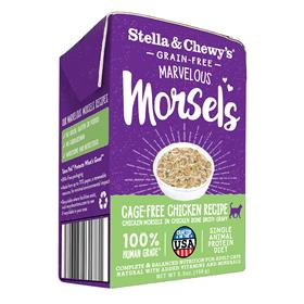 Stella and Chewys Marvelous Morsels Cage Free Chicken Recipe Wet Cat Food