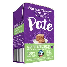 Stella and Chewys Purrfect Pate Cage Free Chicken Recipe Cat Wet Food