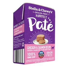 Stella and Chewys Purrfect Pate Chicken Salmon Medley Recipe Cat Wet Food
