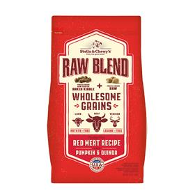 Stella and Chewys Raw Blend Baked Kibble with Wholesome Grains Red Meat