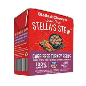 Stella and Chewys Stew Cage Free Turkey Wet Food