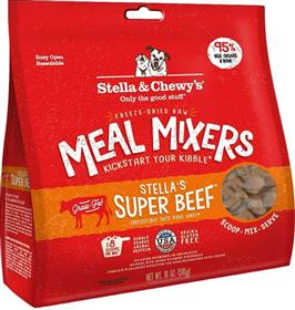 Stella and Chewys Super Beef Meal Mixers