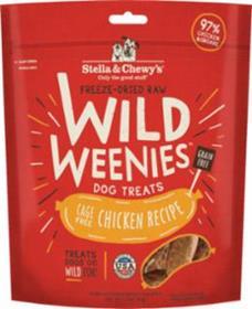 Stella and Chewys Wild Weenies Cage Free Chicken Recipe