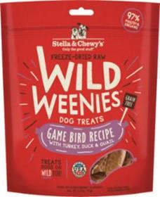 Stella and Chewys Wild Weenies Game Bird Recipe