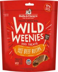 Stella and Chewys Wild Weenies Grass Fed Beef Recipe
