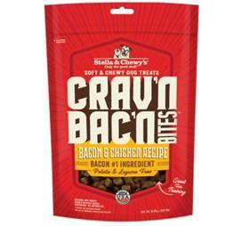 Stella Chewys Cravn Bacn Bites Bacon Chicken Recipe Dog Treats