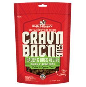 Stella Chewys Cravn Bacn Bites Bacon Duck Recipe Dog Treats