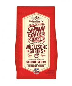 Stella Chewys Wholesome Grain Raw Coated Salmon