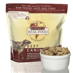 Steves Dog Food Freeze Dried Beef Diet for Dogs
