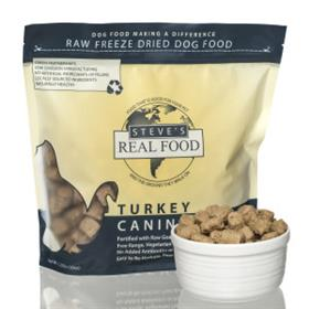 Steves Dog Food Freeze Dried Turkey Diet for Dogs