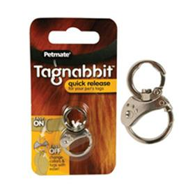 Tagnabbit Quick Release Pet Tag Ring