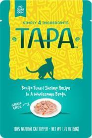 Tapa Bonito Tuna and Shrimp Recipe