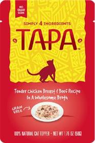 Tapa Tender Chicken Breast and Beef Recipe