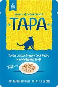 Tapa Tender Chicken Breast and Duck Recipe