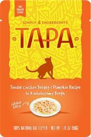 Tapa Tender Chicken Breast and Pumpkin Recipe