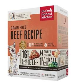 The Honest Kitchen Dehydrated Grain Free Beef Recipe