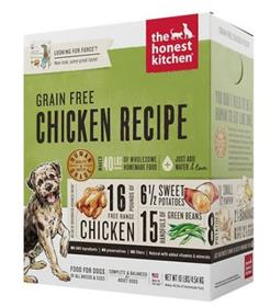 The Honest Kitchen Dehydrated Grain Free Chicken Recipe