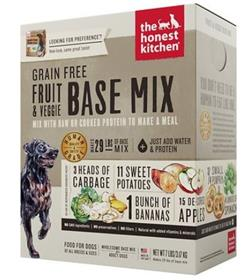 The Honest Kitchen Dehydrated Grain Free Fruit Veggie Base Mix