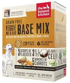 The Honest Kitchen Dehydrated Grain Free Veggie Nut Seed Base Mix