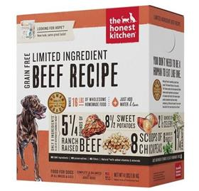 The Honest Kitchen Dehydrated Limited Ingredient Beef Recipe