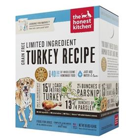 The Honest Kitchen Dehydrated Limited Ingredient Turkey Recipe