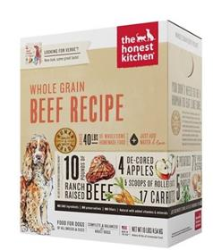 The Honest Kitchen Dehydrated Whole Grain Beef Recipe