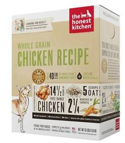 The Honest Kitchen Dehydrated Whole Grain Chicken Recipe