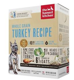The Honest Kitchen Dehydrated Whole Grain Turkey Recipe