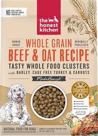 The Honest Kitchen Food Clusters Whole Grain Beef Oat Dog Food