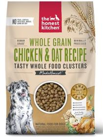 The Honest Kitchen Food Clusters Whole Grain Chicken Oat Dog Food