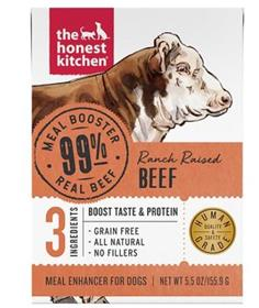 The Honest Kitchen Meal Booster Beef Wet Dog Food Topper