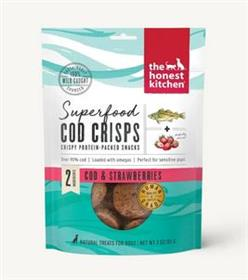 The Honest Kitchen Superfood Cod Crisps Cod and Strawberry